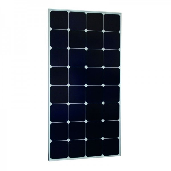 Monokristallines Hochleistungs-Solarmodul 120W / 12V SUN Peak SPR 120 silber