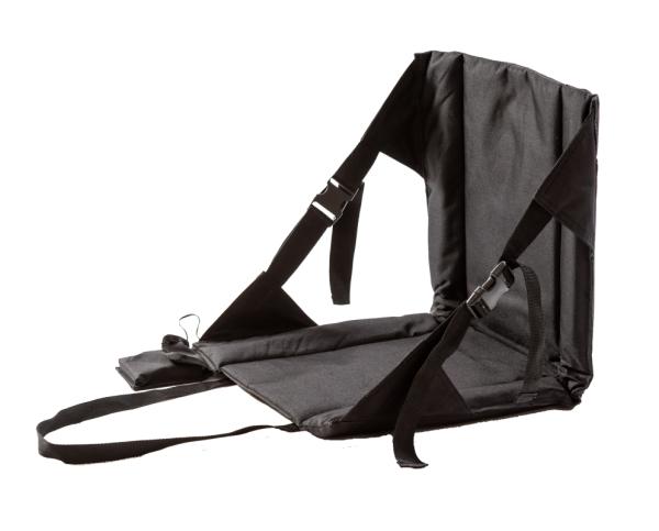 Sitzheizung: Infrarot-Outdoor-Sitz mit Rückenlehne: Outchair - Back Up schwarz