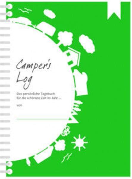 Camper's Log - Das persönliche Tagebuch für Reisen mit dem Wohnmobil, Wohnwagen oder Zelt