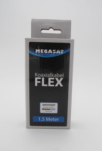 Hochwertiges und flexibles Koaxialkabel, Länge 1,5 m – Ideal für den mobilen Einsatz