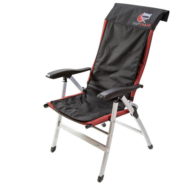 Infrarot-Sitzheizung für Garten- und Camping-Stühle Outchair - Seat Cover