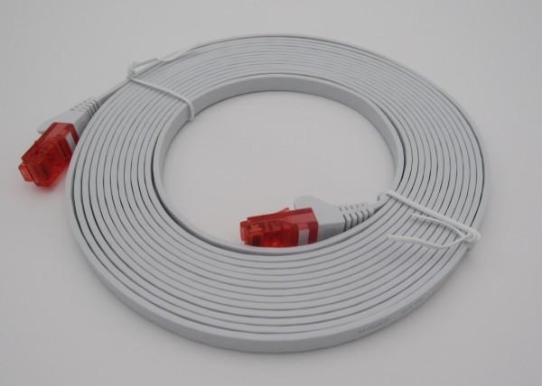 hochwertiges LAN-Patchkabel, sehr flach, 5 m lang, zum Betrieb des Webcatchers