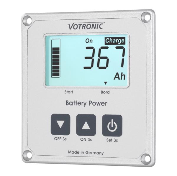 Votronic LCD Batteriecomputer 200 - Smart Shunt