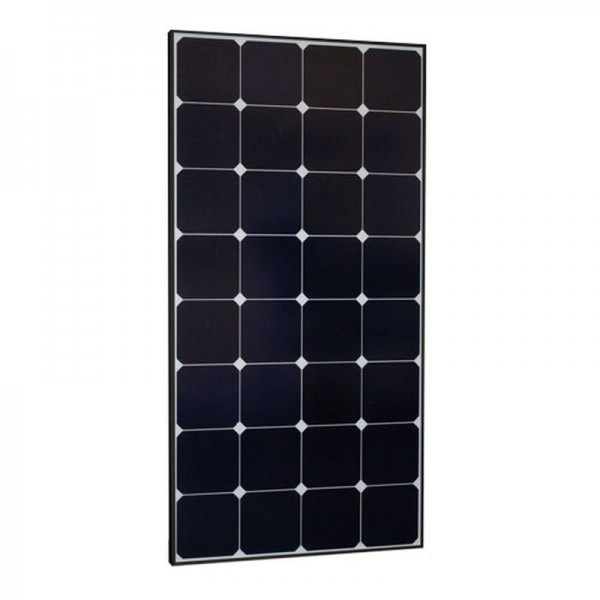 Monokristallines Hochleistungs-Solarmodul 120W / 12V SUN Peak SPR 120 schwarz