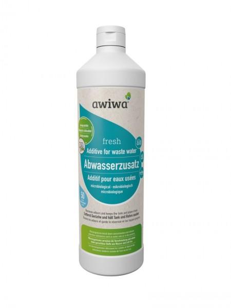 awiwa® fresh, mikrobiologischer Abwasserzusatz; Preis/Liter 12,95 €