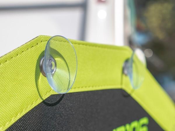 Blidimax®-Saugnapf zur Befestigung des SolarFlex®