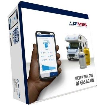 Fernanzeige DIMES SRG - Bluetooth Füllstandsanzeige für 1 Gastankflasche mit Multiventil