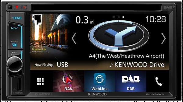 Navigationssystem Kenwood DNX451RVS