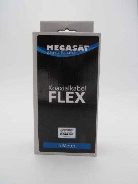 Hochwertiges und flexibles Koaxialkabel, Länge 5 m– Ideal für den mobilen Einsatz