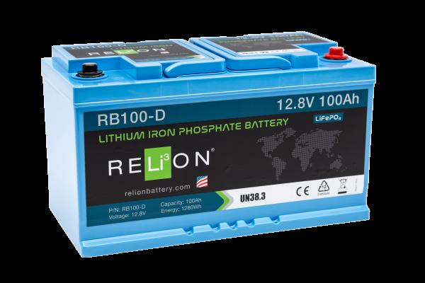 RELi³ON LiFePO4 RB100-D