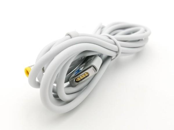 Adapterkabel Hohlstecker 5,5 mm auf MagSafe2, weiß, zum Anschluss an die Powerbank des Back Up Kits