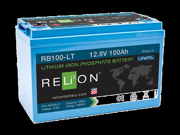RELi³ON LiFePO4 RB100-LT