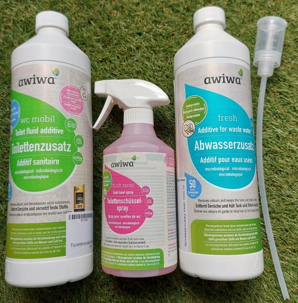 awiwa WC & Abwasser Starter-Set - Dosierhilfe geschenkt