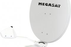 Auch weit weg von zu Hause hat man mit der 85cm Antenne von Megasat noch guten Empfang
